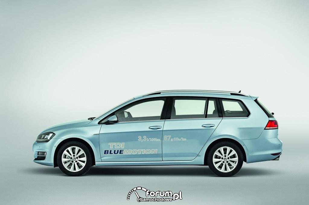 Volkswagen Golf TDI BlueMotion, kombi, bok