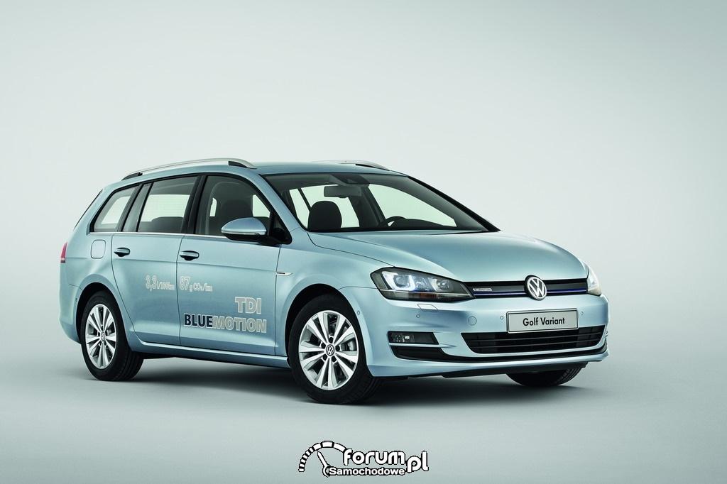 Volkswagen Golf TDI BlueMotion, kombi