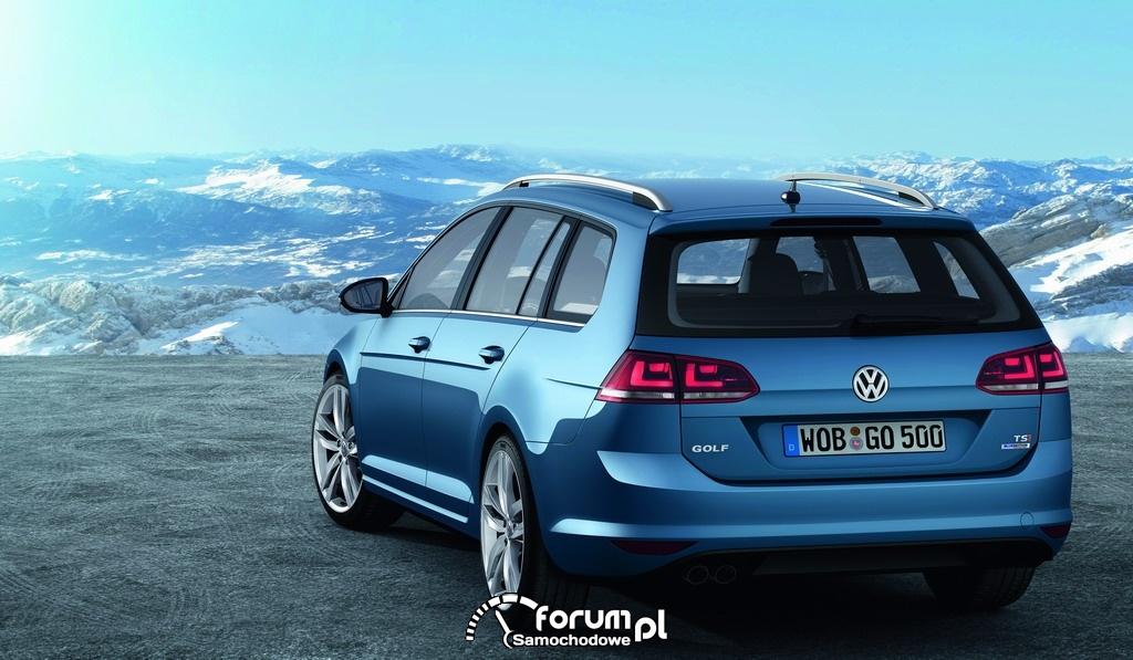 Volkswagen Golf Variant, tył