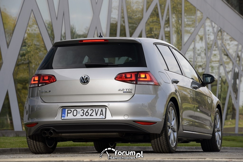 Volkswagen Golf VII 2.0 TDI Bluemotion, tył