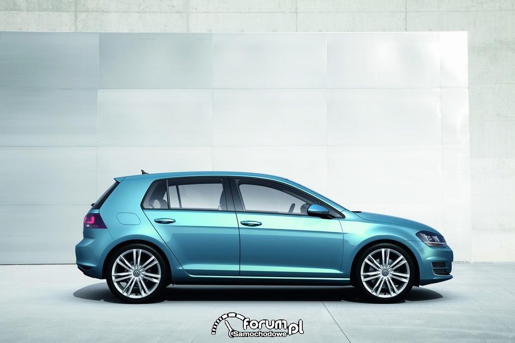 Volkswagen Golf VII TSI Bluemotion, bok