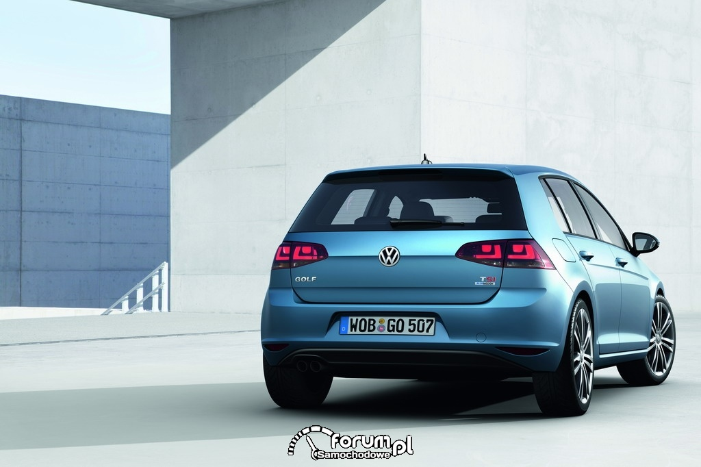 Volkswagen Golf VII TSI Bluemotion, tył