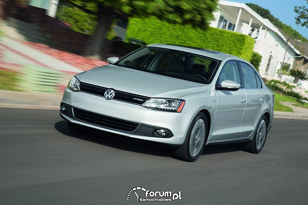 Volkswagen Jetta Hybrid, przód