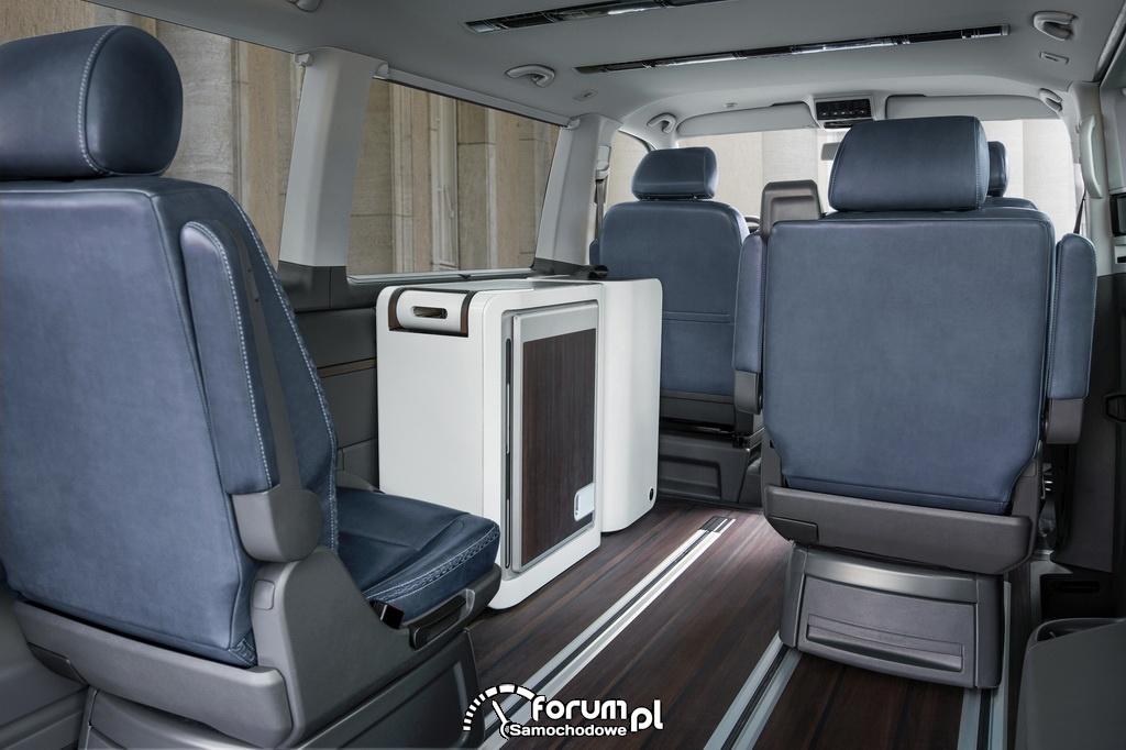 Volkswagen Multivan Alltrack, przestrzeń pasażerska