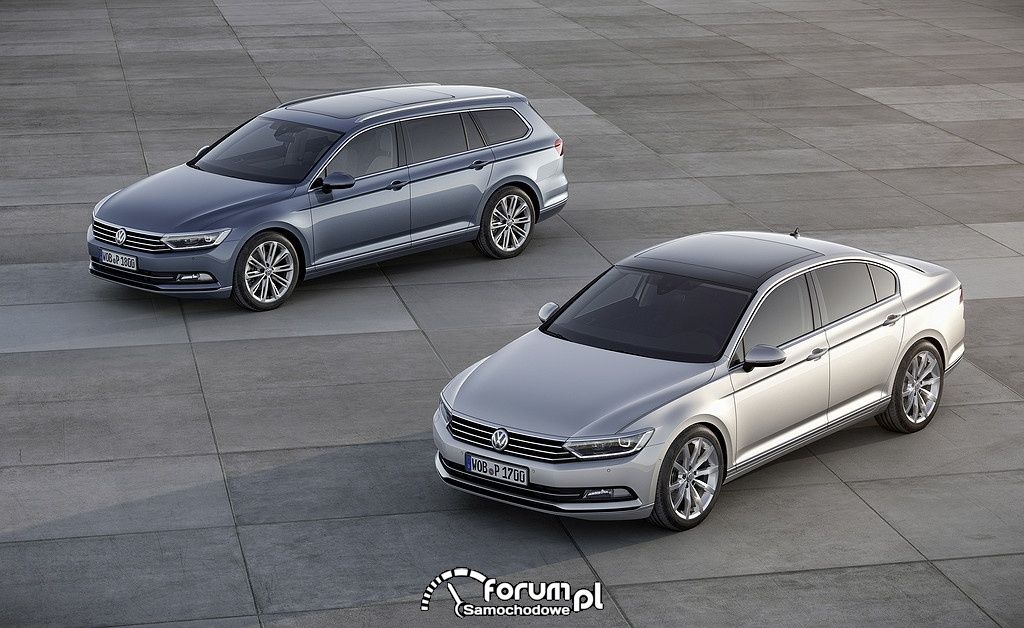 Volkswagen Passat B8 sedan i kombi