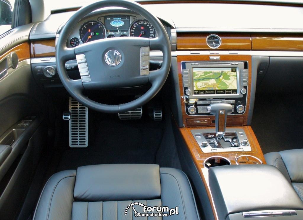 Volkswagen Phaeton, wnętrze