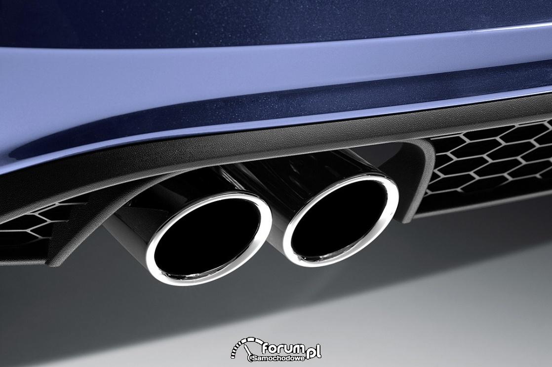 Volkswagen Polo GTI, 2018, końcówka wydechu