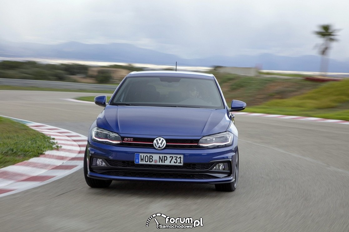 Volkswagen Polo GTI, 2018, przód