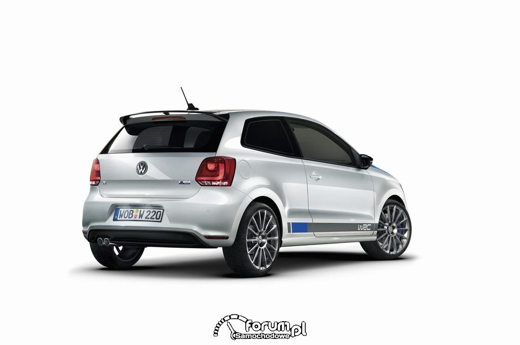 Volkswagen Polo R WRC, tył