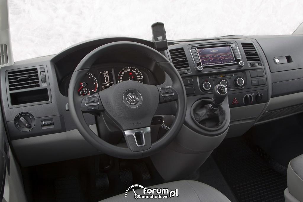 Volkswagen T5 4MOTION Rockton, wnętrze