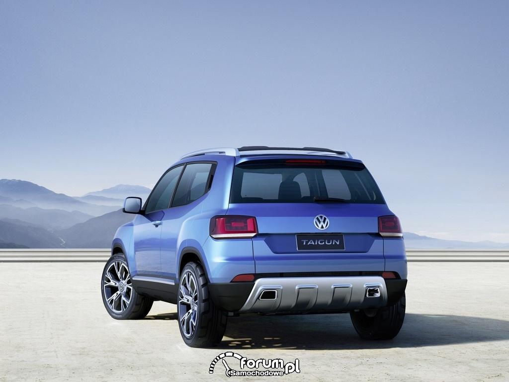 Volkswagen Taigun, SUV, tył