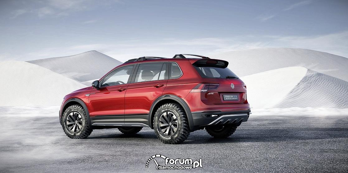Volkswagen Tiguan GTE Active Concept, tył