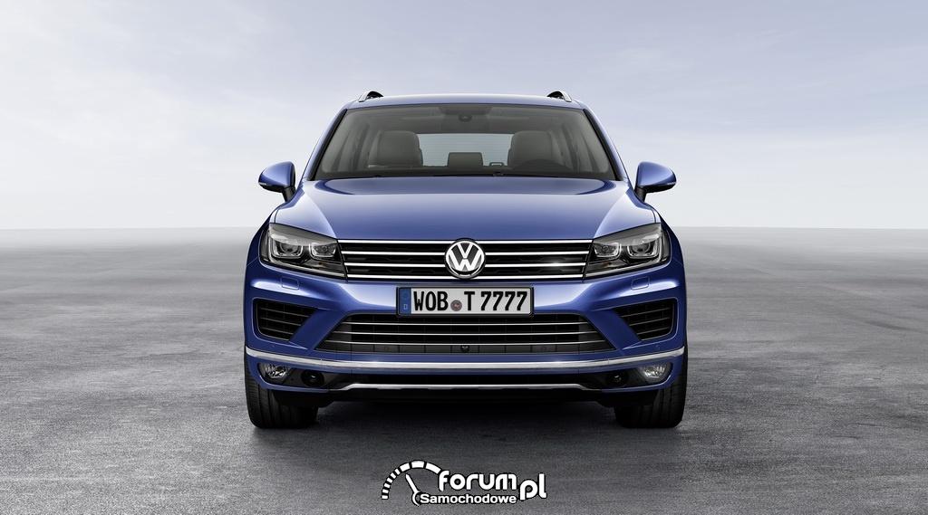 Volkswagen Touareg, przód