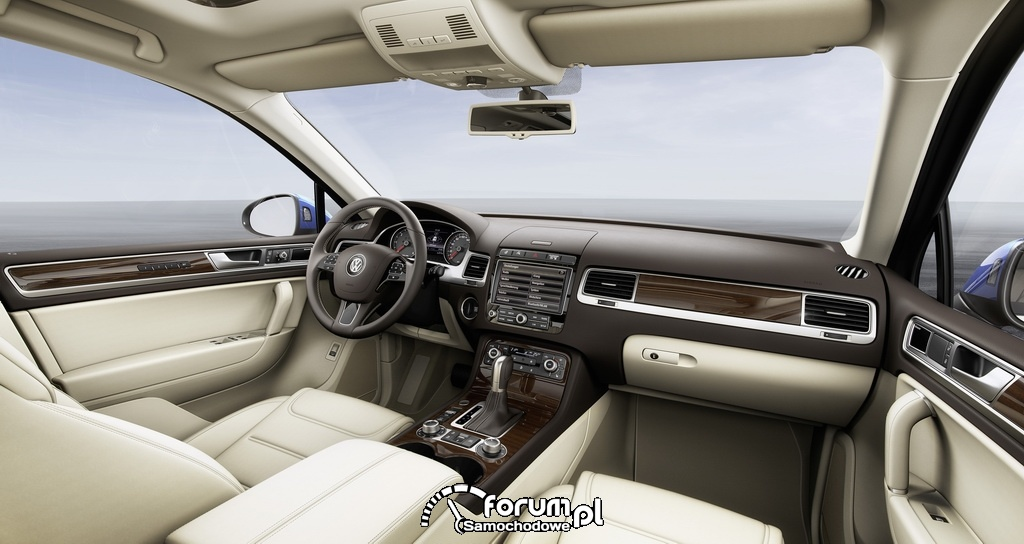 Volkswagen Touareg, wnętrze