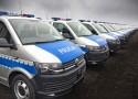 Nowe VW Transportery T6 dla Policji