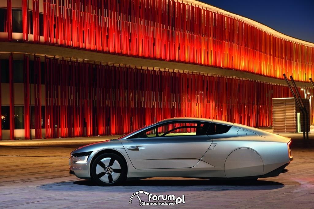 Volkswagen XL1, bok