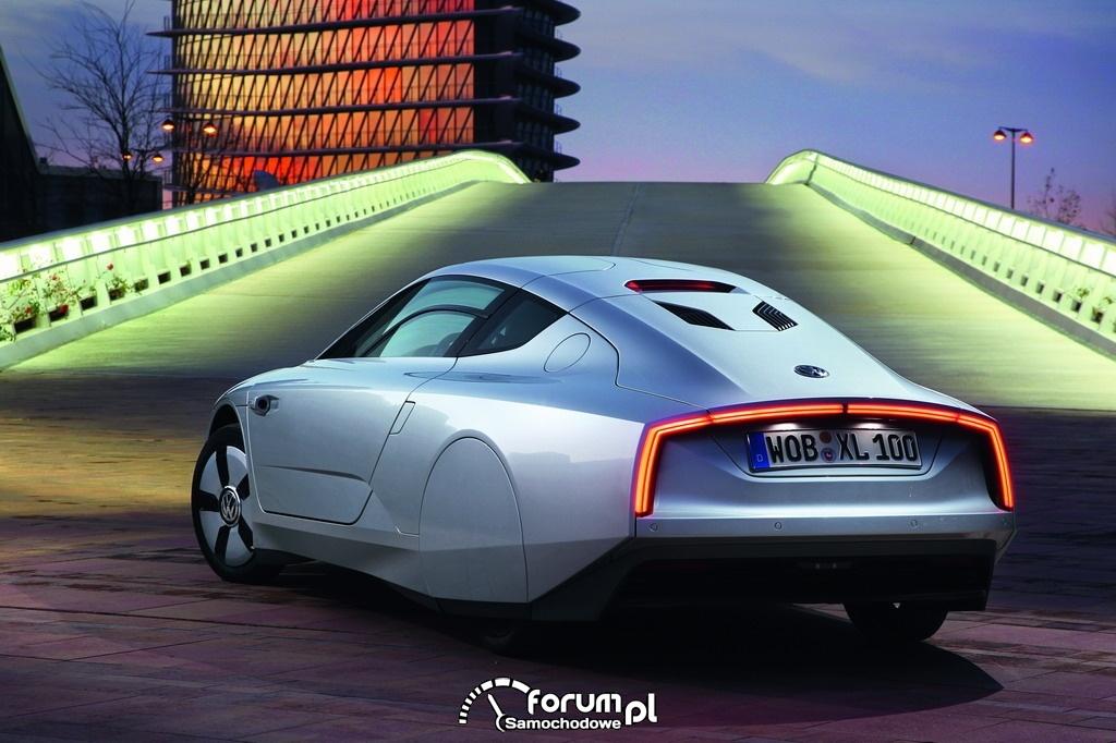 Volkswagen XL1, tył