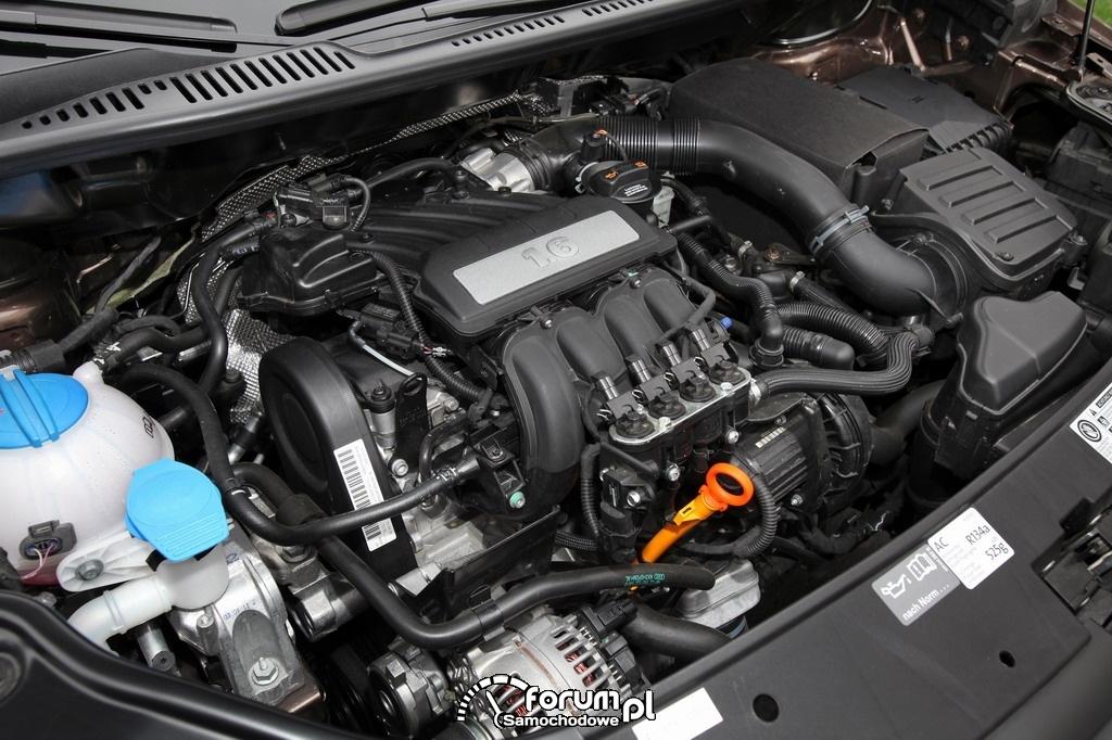 VW Caddy BiFuel, silnik 1.6