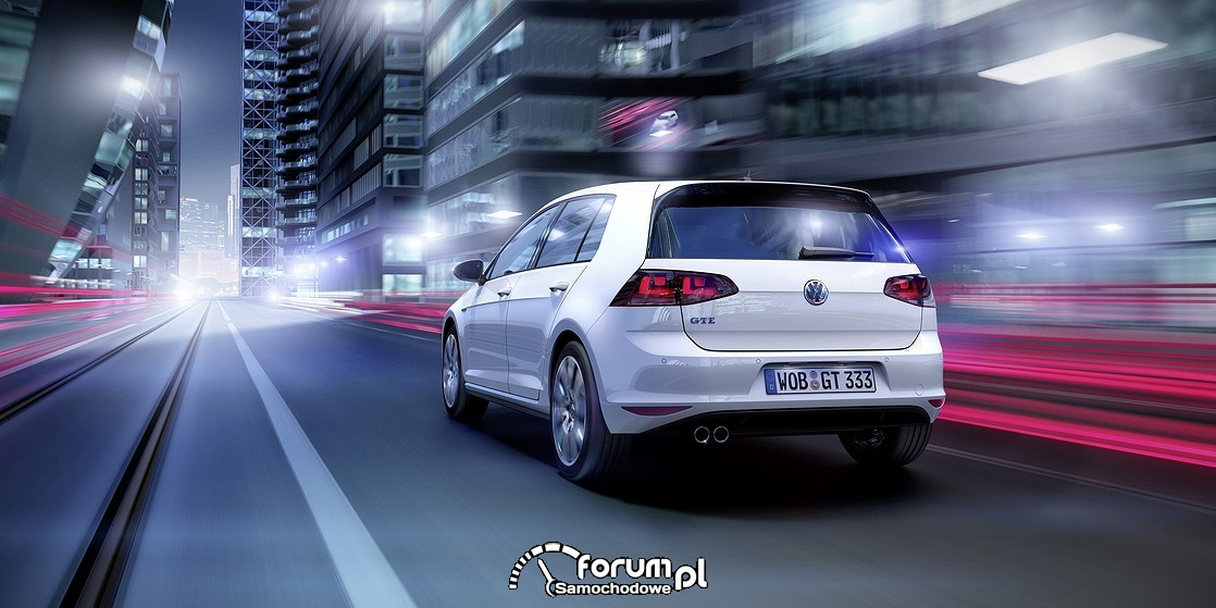 VW Golf GTE, tył