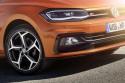VW Polo 2018, przód, światła LED