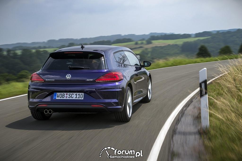 VW Scirocco R 2.0TDI, tył