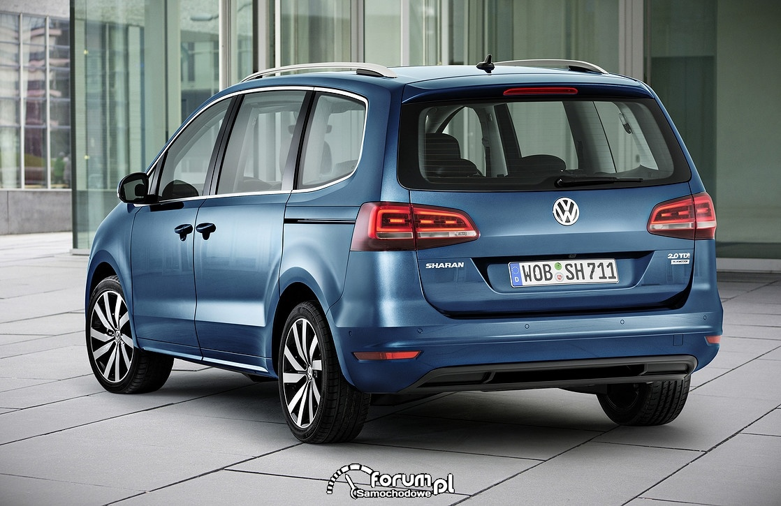 VW Sharan, tył