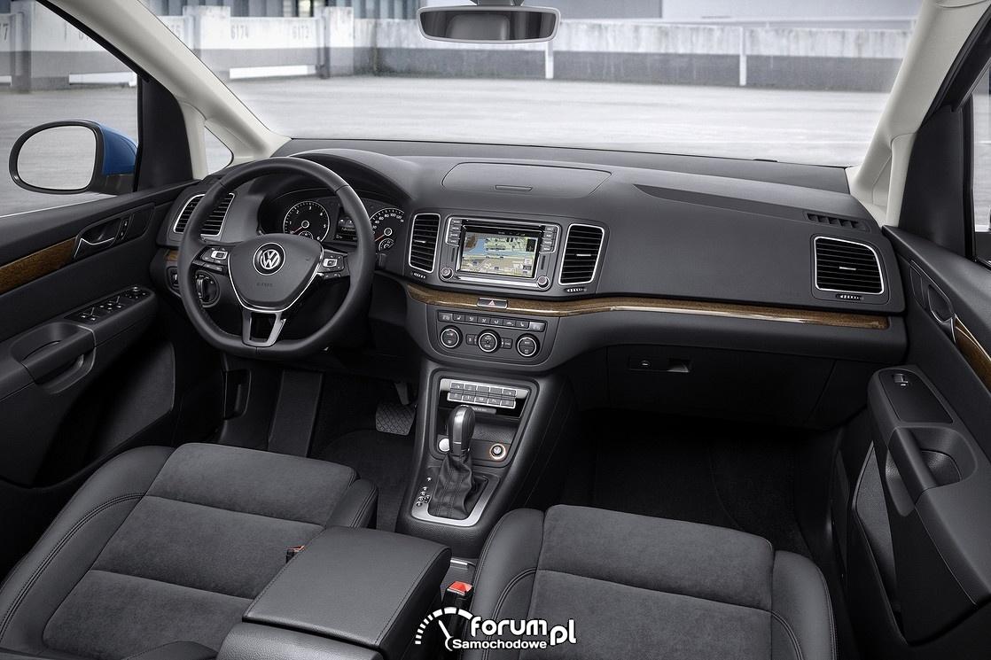 VW Sharan, wnętrze