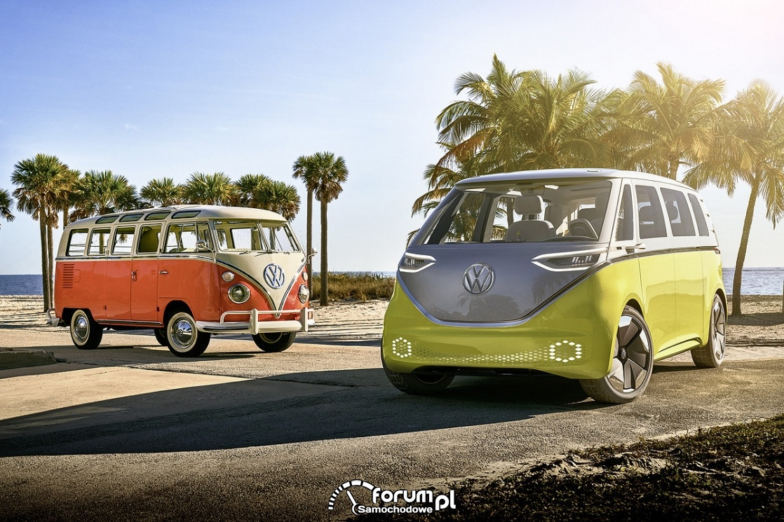 VW T1 Westfalia vs VW I.D. BUZ