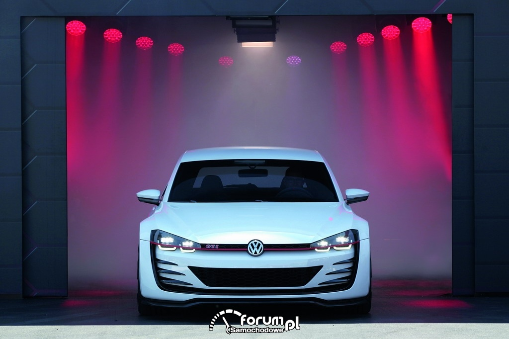 Wizjonerski Golf GTI - Design Vision GTI, przód