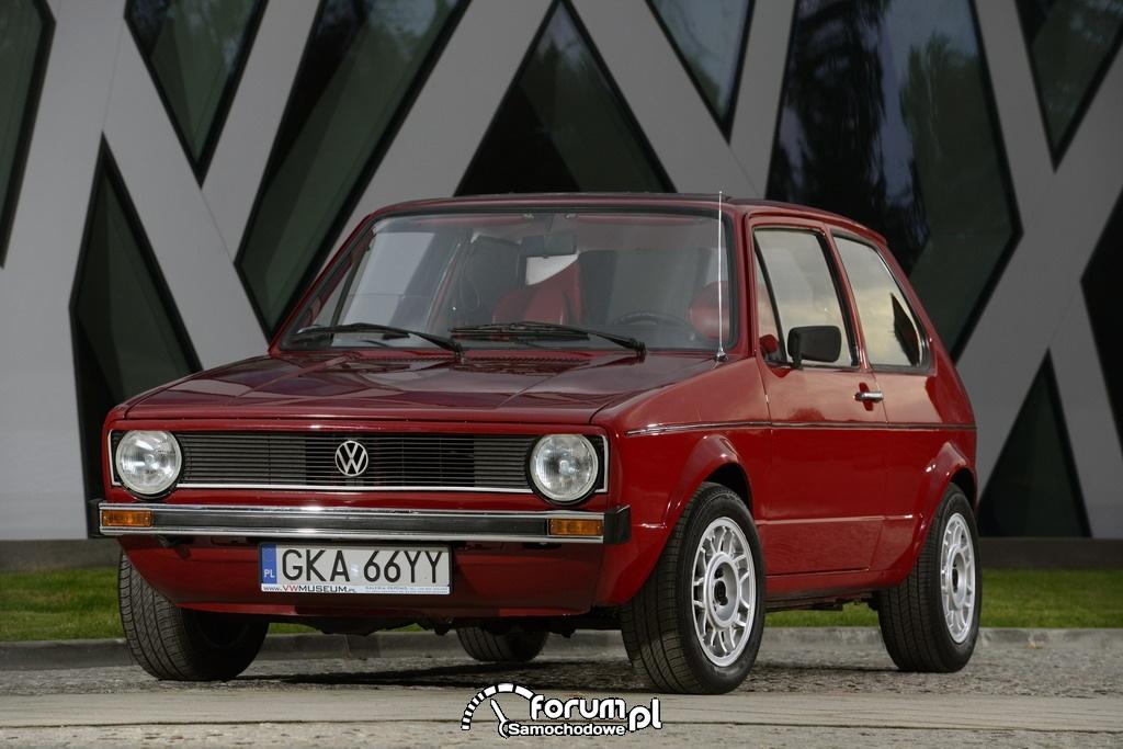 Volkswagen Golf I, przód