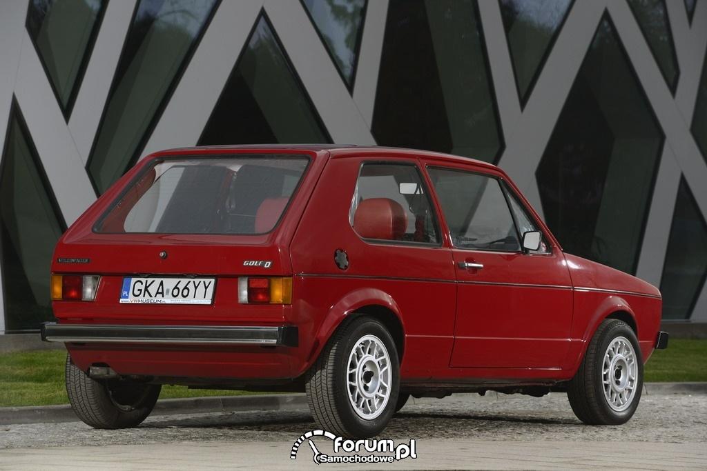 Volkswagen Golf I, tył