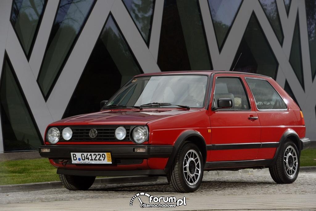 Volkswagen Golf II, przód