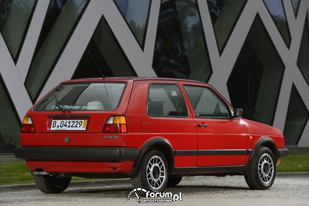 Volkswagen Golf II, tył