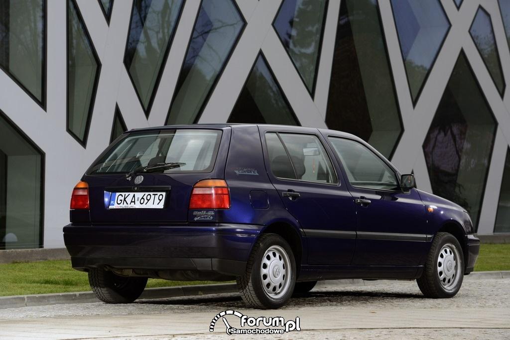 Volkswagen Golf III, tył