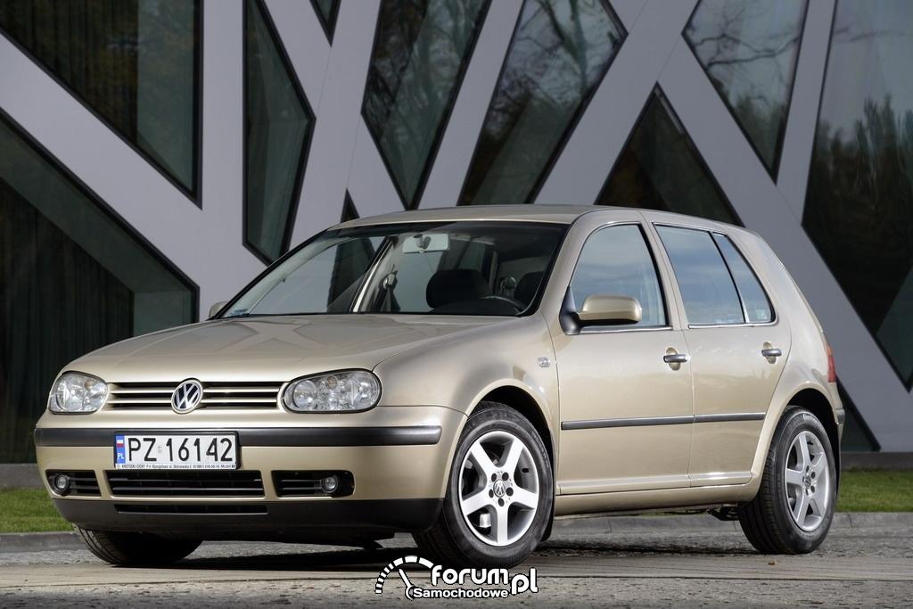 Volkswagen Golf IV, przód