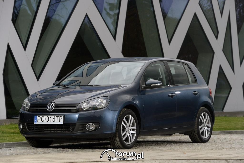 Volkswagen Golf VI, przód