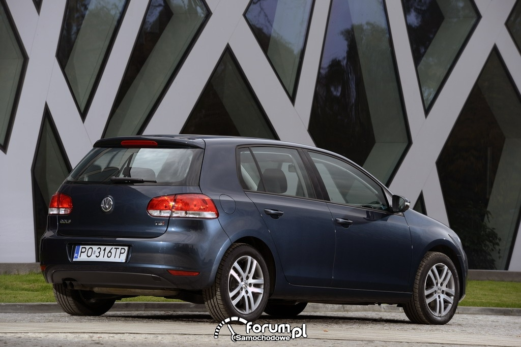 Volkswagen Golf VI, tył