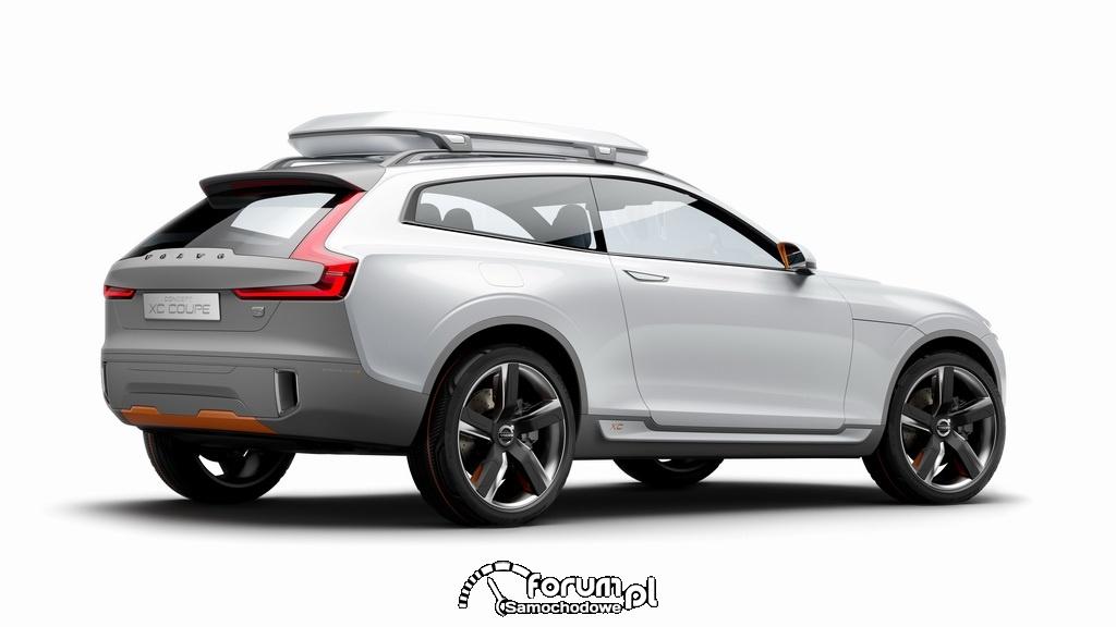 Volvo Concept XC Coupe, tył