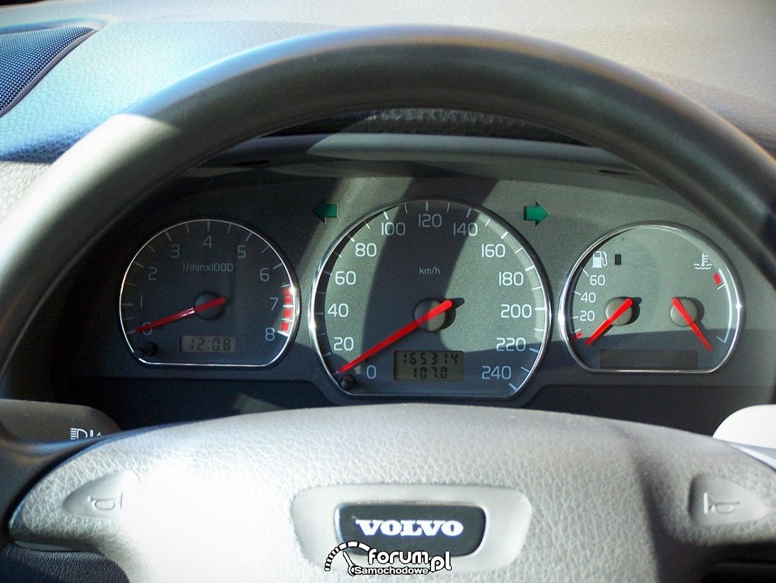 Volvo S40 2.0 140KM, zegary