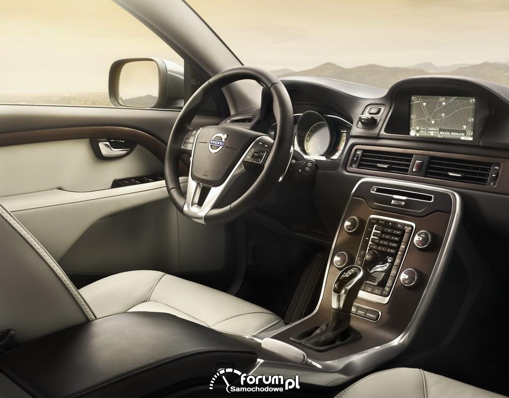 Volvo XC70, 2013, wnętrze