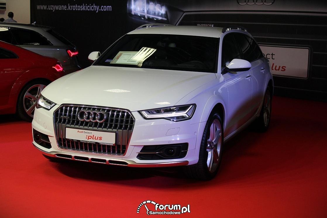 Audi A6 Allroad quatro, przód