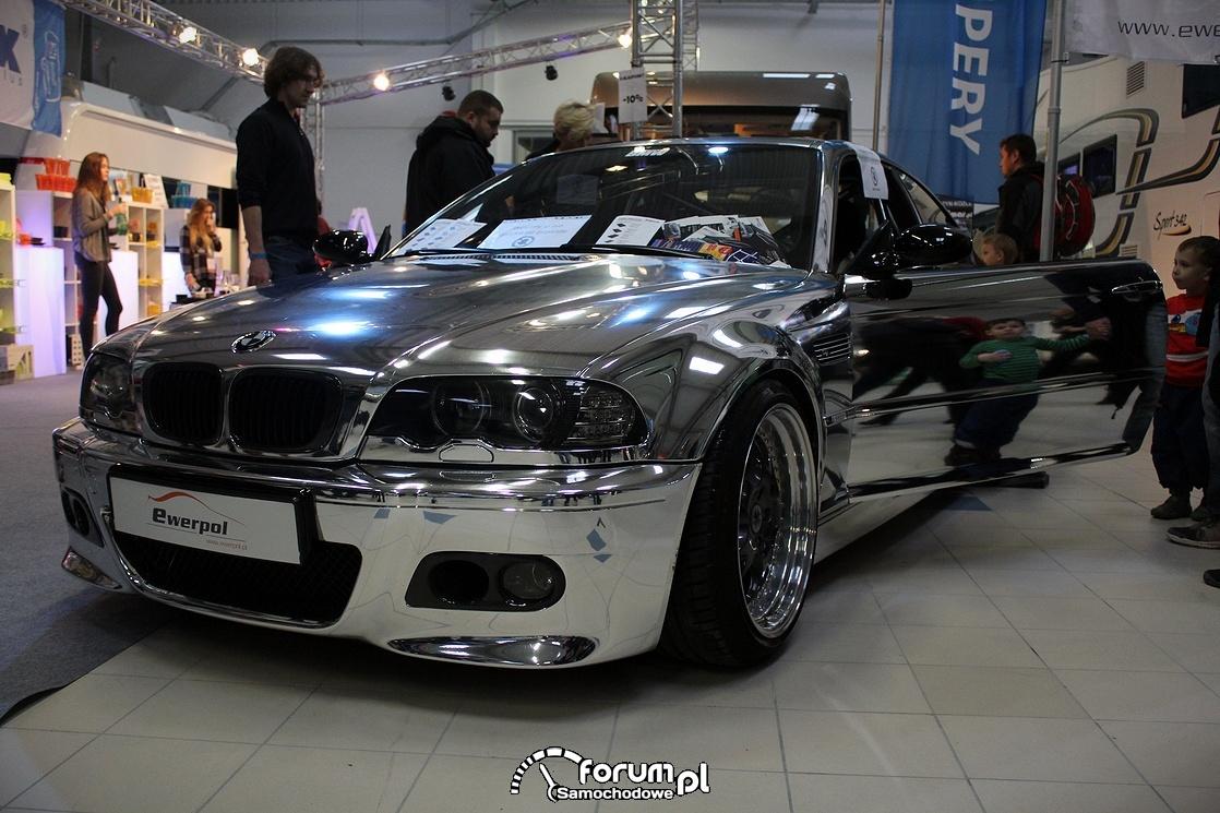BMW, chrom na całym samochodzie