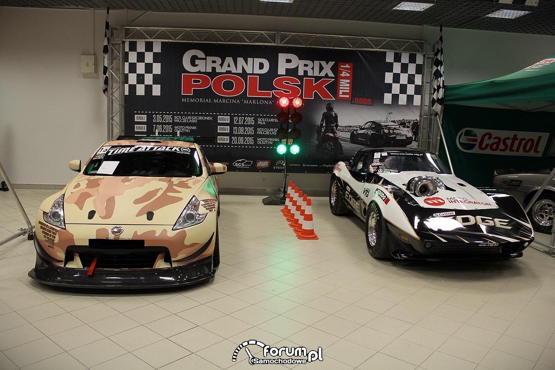 Nissan Z370 i Chevrolet Corvette VTG