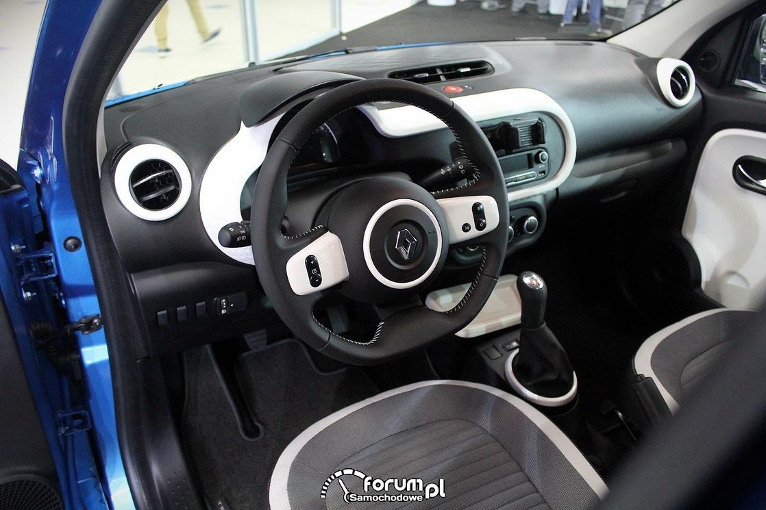 Renault Twingo, wnętrze