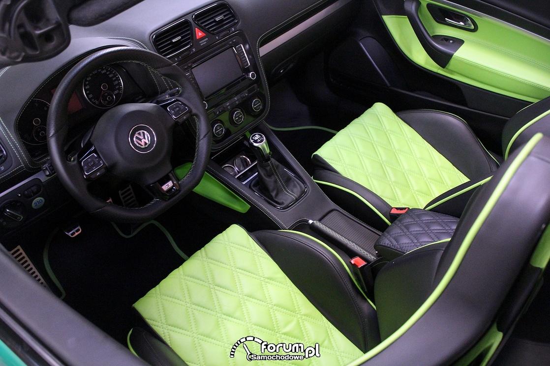 VW EOS, skórzane wnętrze