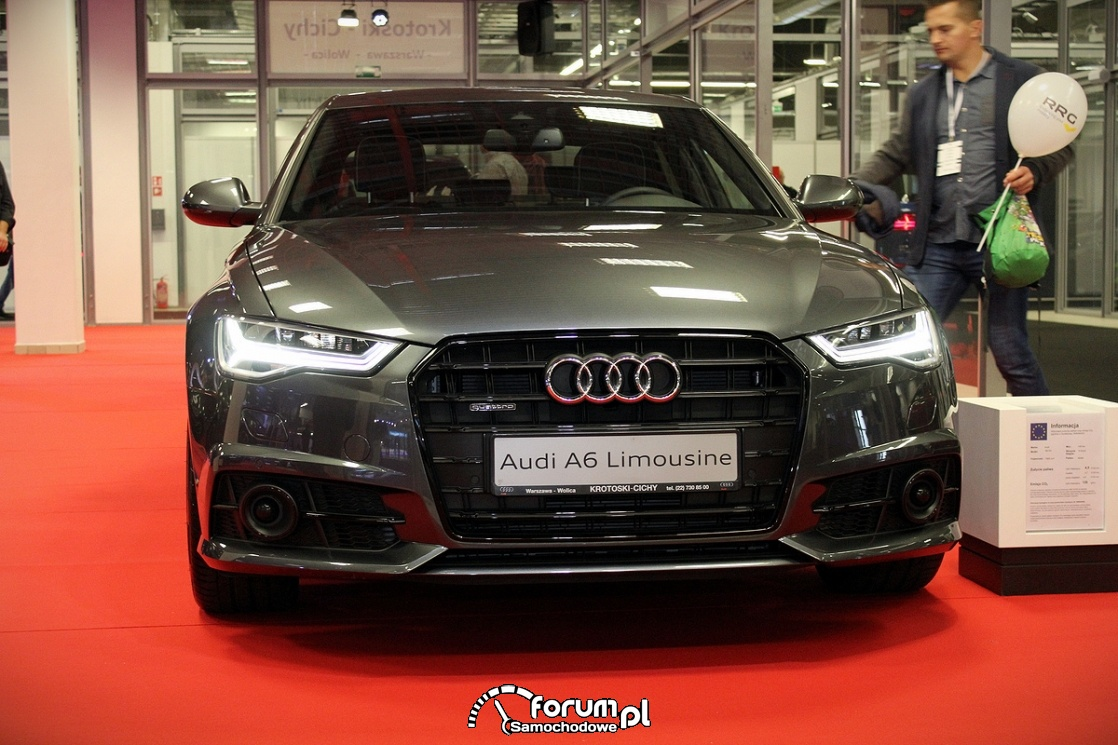 Audi A6 Limousine, przód