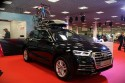Audi Q5, rower i box na dachu