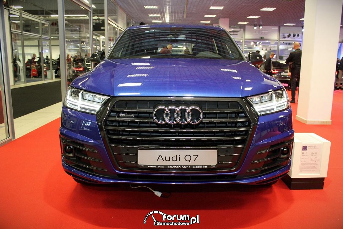 Audi Q7, przód