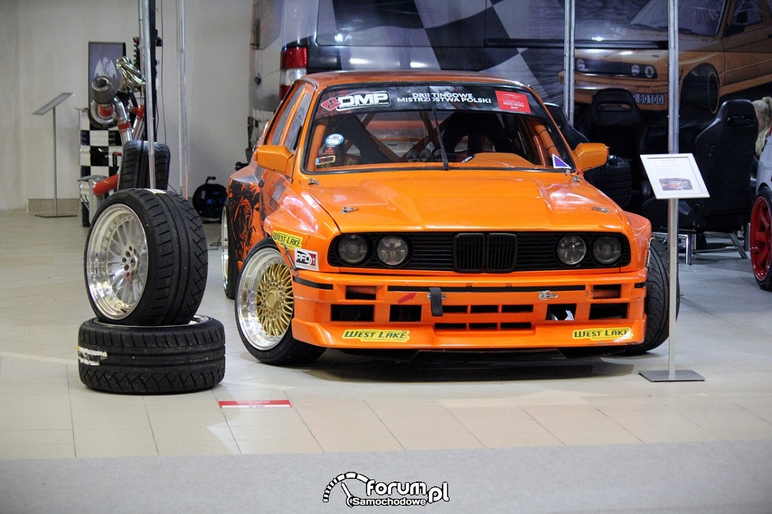 BMW E30, samochód do driftu