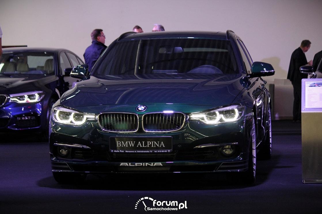 BMW F30 Alpina, przód